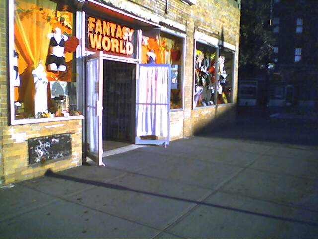 Fantasy world open for business. 8am sunday